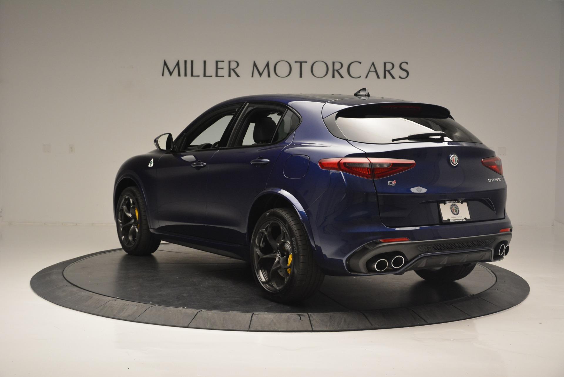 New 2018 Alfa Romeo Stelvio Quadrifoglio | Greenwich, CT
