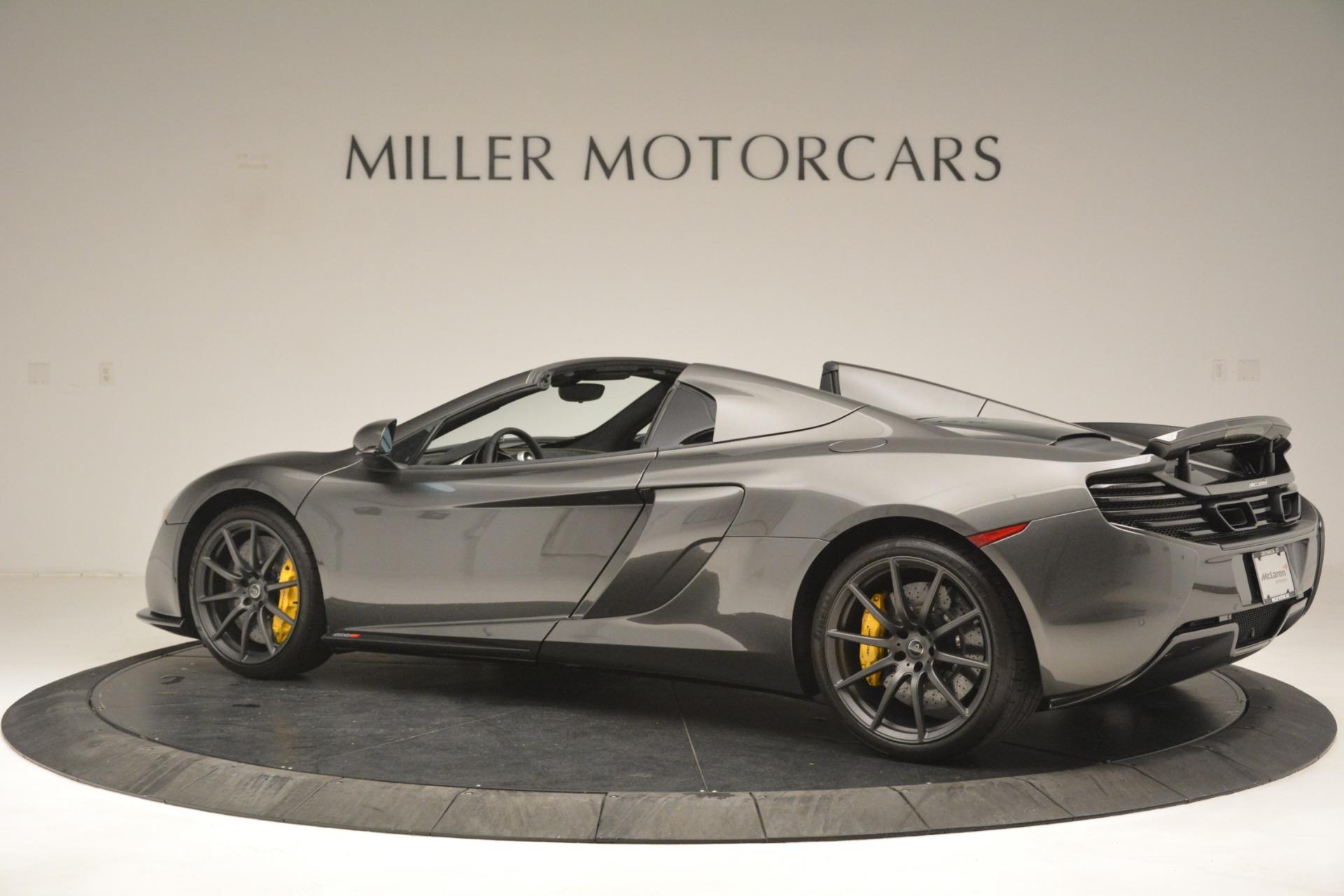 Used 2016 McLaren 650S Spider Convertible   Greenwich, CT