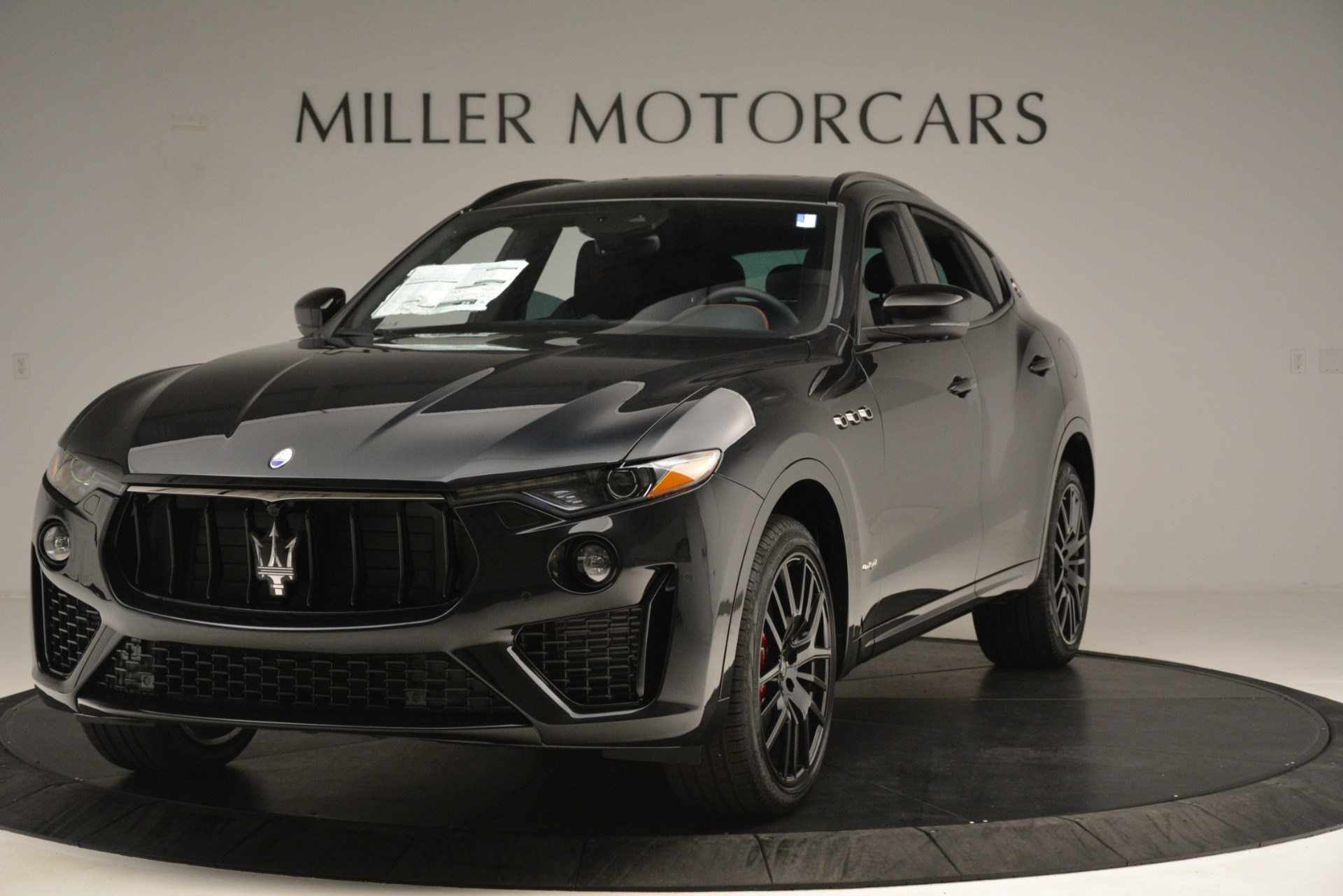New 2019 Maserati Levante SQ4 GranSport Nerissimo | Greenwich, CT