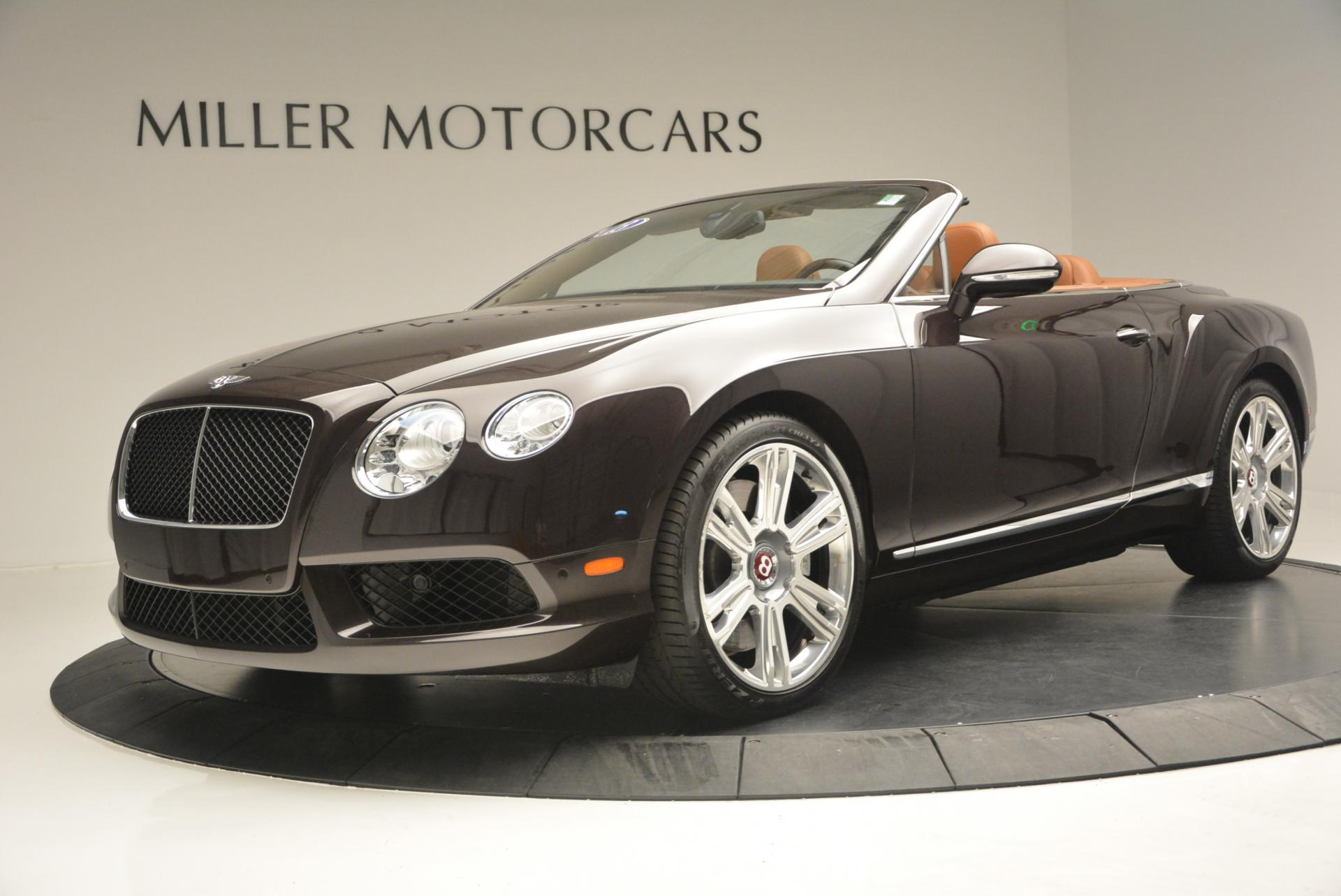 2013 Bentley Continental GTC V8 Stock 7059 for sale near Greenwich