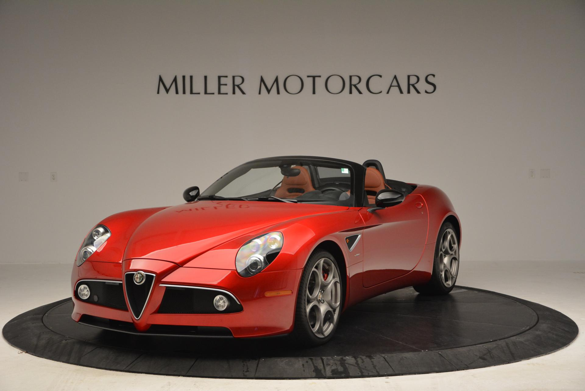 Used 2009 Alfa Romeo 8C Competizione Spider for sale $353,900 at Pagani of Greenwich in Greenwich CT 06830 1