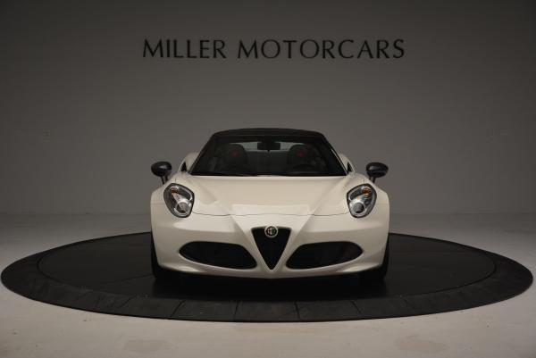 New 2015 Alfa Romeo 4C Spider for sale Sold at Pagani of Greenwich in Greenwich CT 06830 12