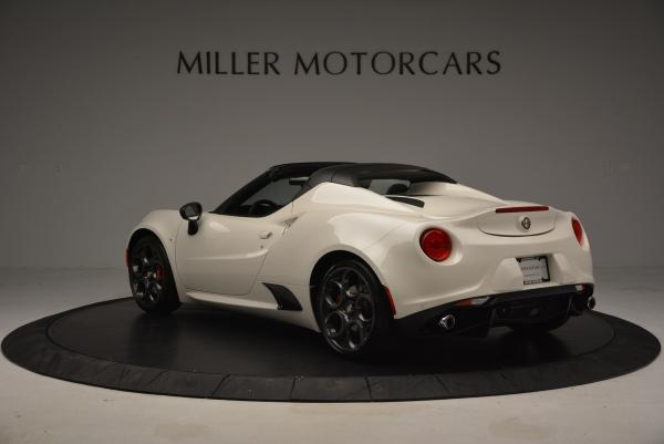 New 2015 Alfa Romeo 4C Spider for sale Sold at Pagani of Greenwich in Greenwich CT 06830 5