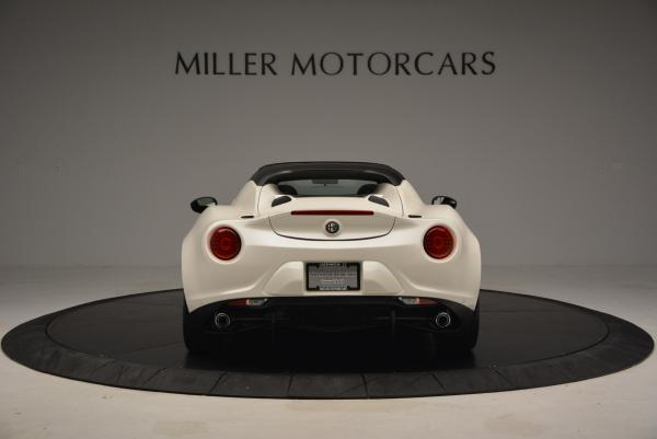 New 2015 Alfa Romeo 4C Spider for sale Sold at Pagani of Greenwich in Greenwich CT 06830 6
