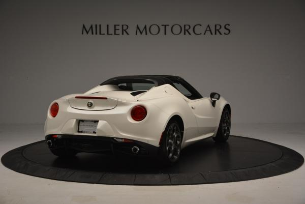 New 2015 Alfa Romeo 4C Spider for sale Sold at Pagani of Greenwich in Greenwich CT 06830 7