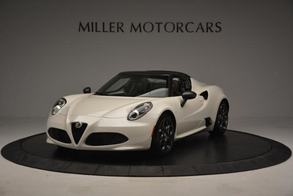 New 2015 Alfa Romeo 4C Spider for sale Sold at Pagani of Greenwich in Greenwich CT 06830 1