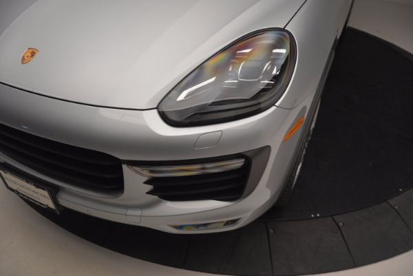 Used 2016 Porsche Cayenne Turbo for sale Sold at Pagani of Greenwich in Greenwich CT 06830 14