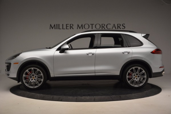 Used 2016 Porsche Cayenne Turbo for sale Sold at Pagani of Greenwich in Greenwich CT 06830 3