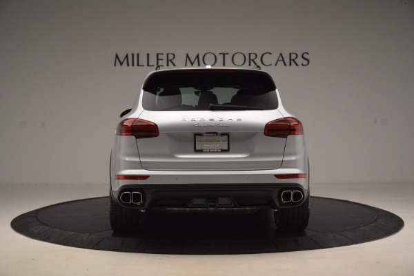 Used 2016 Porsche Cayenne Turbo for sale Sold at Pagani of Greenwich in Greenwich CT 06830 6