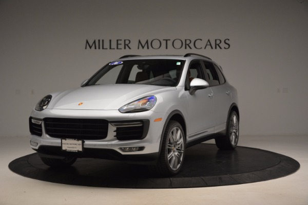 Used 2016 Porsche Cayenne Turbo for sale Sold at Pagani of Greenwich in Greenwich CT 06830 1