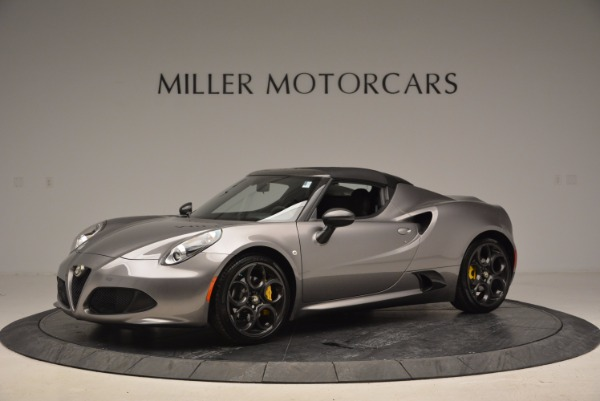 New 2016 Alfa Romeo 4C Spider for sale Sold at Pagani of Greenwich in Greenwich CT 06830 14
