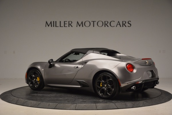 New 2016 Alfa Romeo 4C Spider for sale Sold at Pagani of Greenwich in Greenwich CT 06830 16