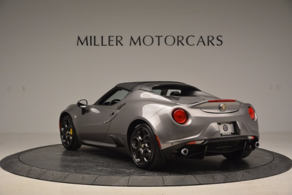 New 2016 Alfa Romeo 4C Spider for sale Sold at Pagani of Greenwich in Greenwich CT 06830 17