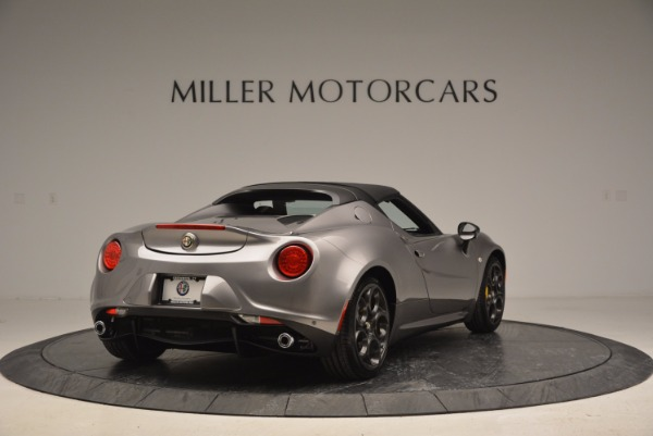 New 2016 Alfa Romeo 4C Spider for sale Sold at Pagani of Greenwich in Greenwich CT 06830 19
