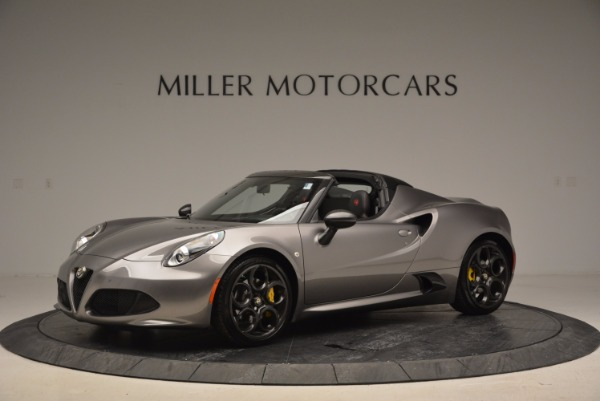 New 2016 Alfa Romeo 4C Spider for sale Sold at Pagani of Greenwich in Greenwich CT 06830 2