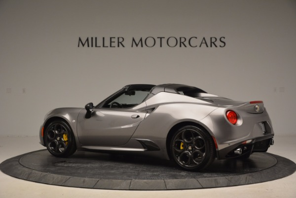 New 2016 Alfa Romeo 4C Spider for sale Sold at Pagani of Greenwich in Greenwich CT 06830 4