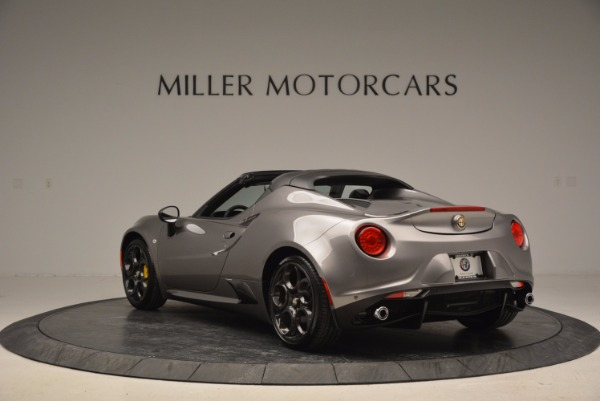 New 2016 Alfa Romeo 4C Spider for sale Sold at Pagani of Greenwich in Greenwich CT 06830 5