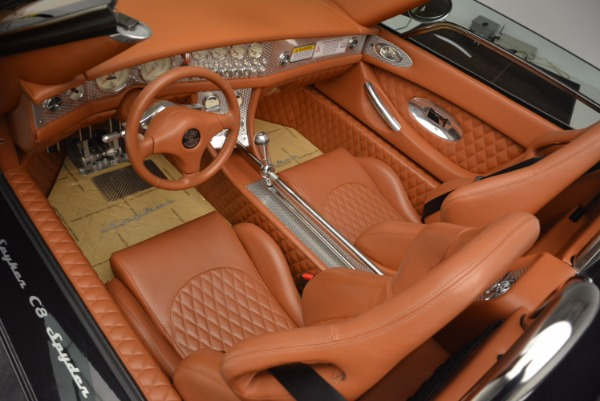 Used 2006 Spyker C8 Spyder for sale Sold at Pagani of Greenwich in Greenwich CT 06830 13