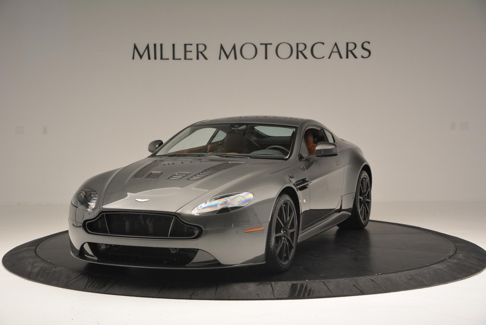 Used 2015 Aston Martin V12 Vantage S for sale Sold at Pagani of Greenwich in Greenwich CT 06830 1