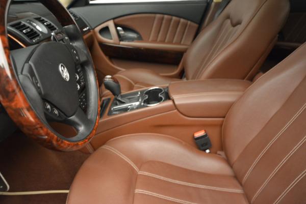 Used 2013 Maserati Quattroporte S for sale Sold at Pagani of Greenwich in Greenwich CT 06830 14