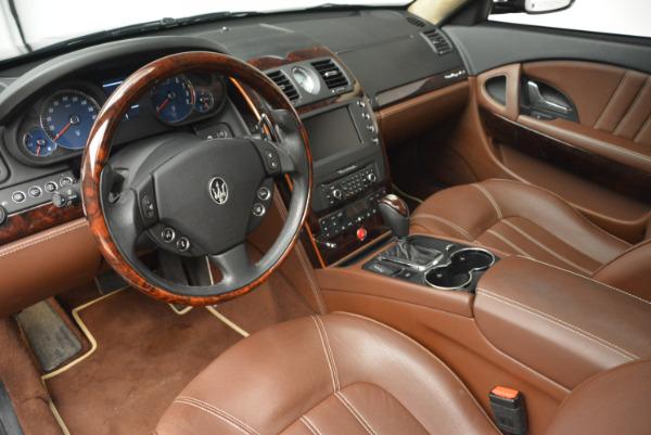 Used 2013 Maserati Quattroporte S for sale Sold at Pagani of Greenwich in Greenwich CT 06830 15