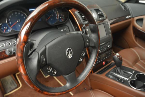 Used 2013 Maserati Quattroporte S for sale Sold at Pagani of Greenwich in Greenwich CT 06830 16