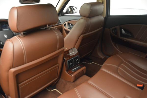 Used 2013 Maserati Quattroporte S for sale Sold at Pagani of Greenwich in Greenwich CT 06830 19