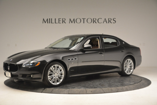 Used 2013 Maserati Quattroporte S for sale Sold at Pagani of Greenwich in Greenwich CT 06830 2