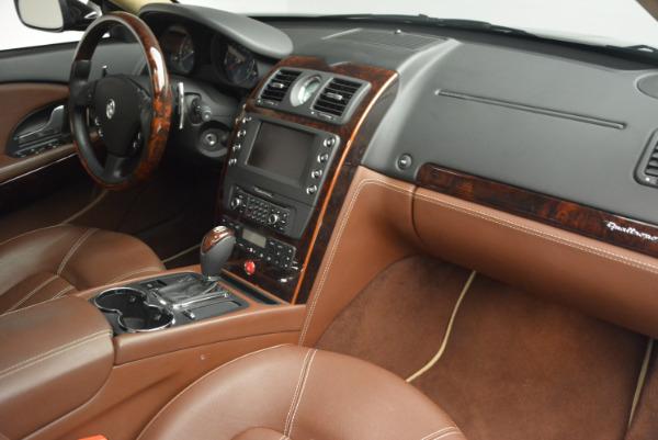 Used 2013 Maserati Quattroporte S for sale Sold at Pagani of Greenwich in Greenwich CT 06830 22