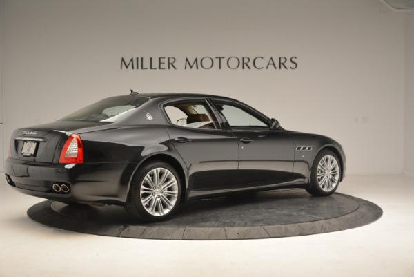 Used 2013 Maserati Quattroporte S for sale Sold at Pagani of Greenwich in Greenwich CT 06830 8