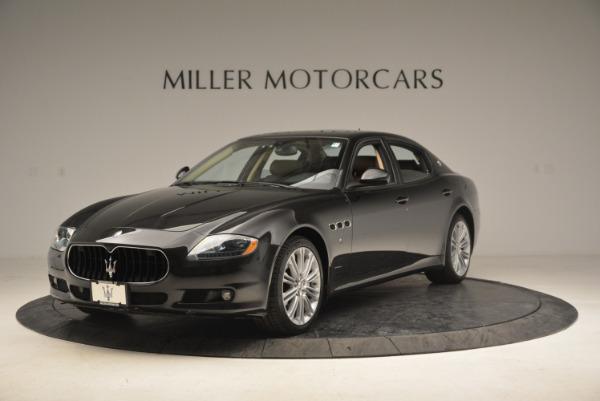 Used 2013 Maserati Quattroporte S for sale Sold at Pagani of Greenwich in Greenwich CT 06830 1
