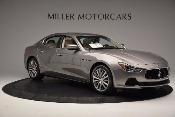 New 2017 Maserati Ghibli S Q4 EX-Loaner for sale Sold at Pagani of Greenwich in Greenwich CT 06830 10
