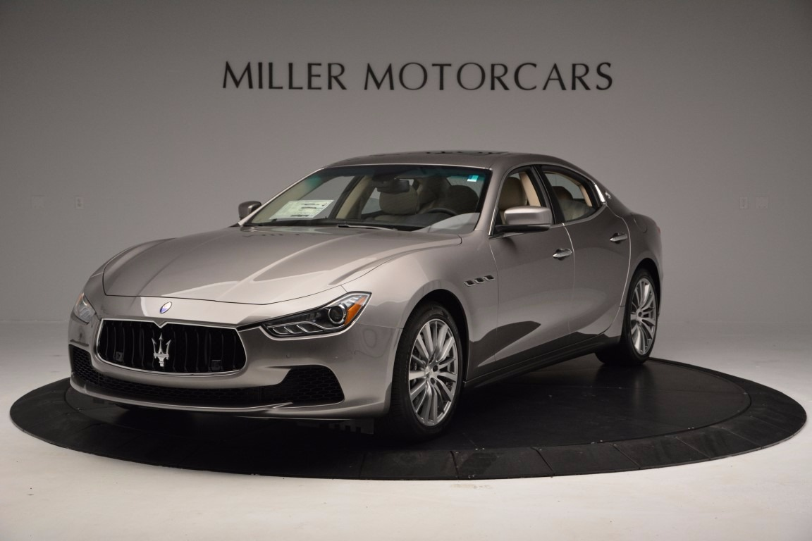 New 2017 Maserati Ghibli S Q4 EX-Loaner for sale Sold at Pagani of Greenwich in Greenwich CT 06830 1