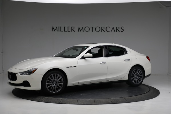 New 2017 Maserati Ghibli S Q4 EX-Loaner for sale Sold at Pagani of Greenwich in Greenwich CT 06830 2