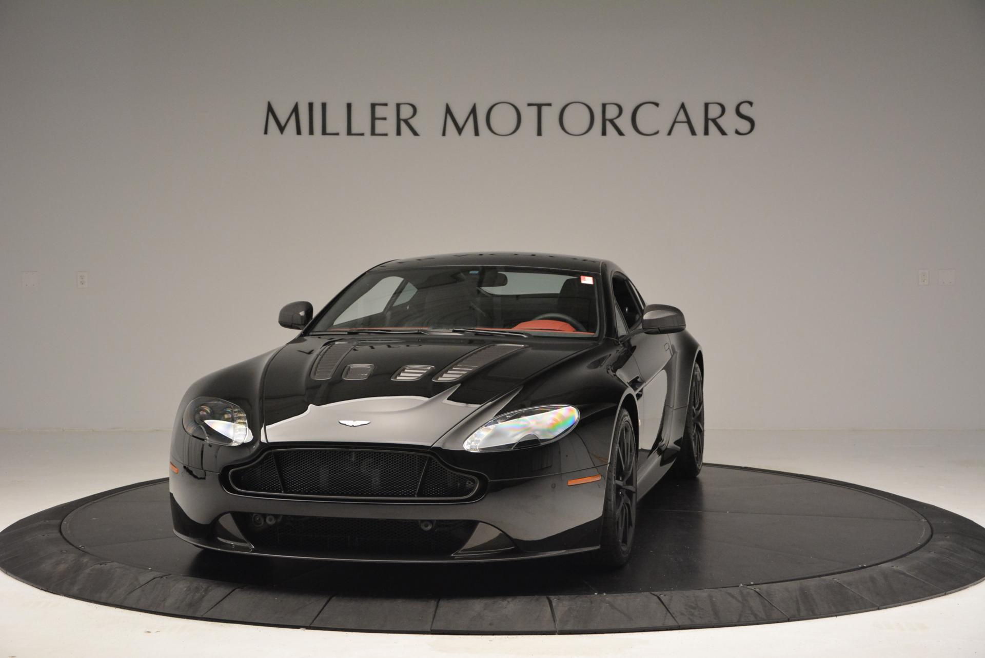 New 2015 Aston Martin V12 Vantage S for sale Sold at Pagani of Greenwich in Greenwich CT 06830 1
