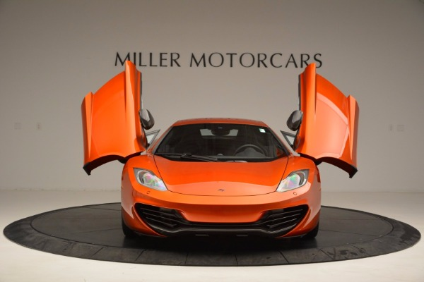 Used 2012 McLaren MP4-12C for sale Sold at Pagani of Greenwich in Greenwich CT 06830 13