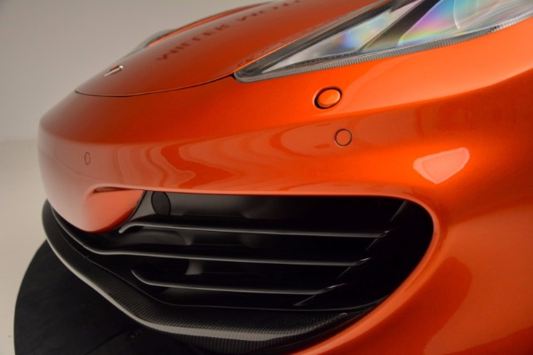 Used 2012 McLaren MP4-12C for sale Sold at Pagani of Greenwich in Greenwich CT 06830 16