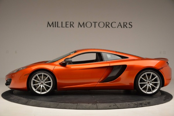 Used 2012 McLaren MP4-12C for sale Sold at Pagani of Greenwich in Greenwich CT 06830 3