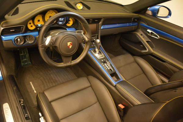 Used 2014 Porsche 911 Turbo S for sale Sold at Pagani of Greenwich in Greenwich CT 06830 18