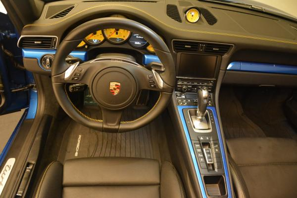 Used 2014 Porsche 911 Turbo S for sale Sold at Pagani of Greenwich in Greenwich CT 06830 19