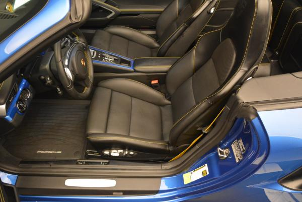 Used 2014 Porsche 911 Turbo S for sale Sold at Pagani of Greenwich in Greenwich CT 06830 20