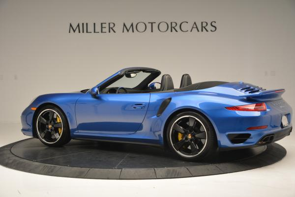 Used 2014 Porsche 911 Turbo S for sale Sold at Pagani of Greenwich in Greenwich CT 06830 4