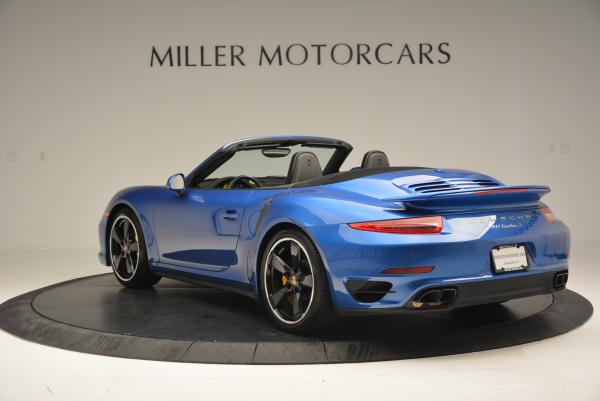 Used 2014 Porsche 911 Turbo S for sale Sold at Pagani of Greenwich in Greenwich CT 06830 5