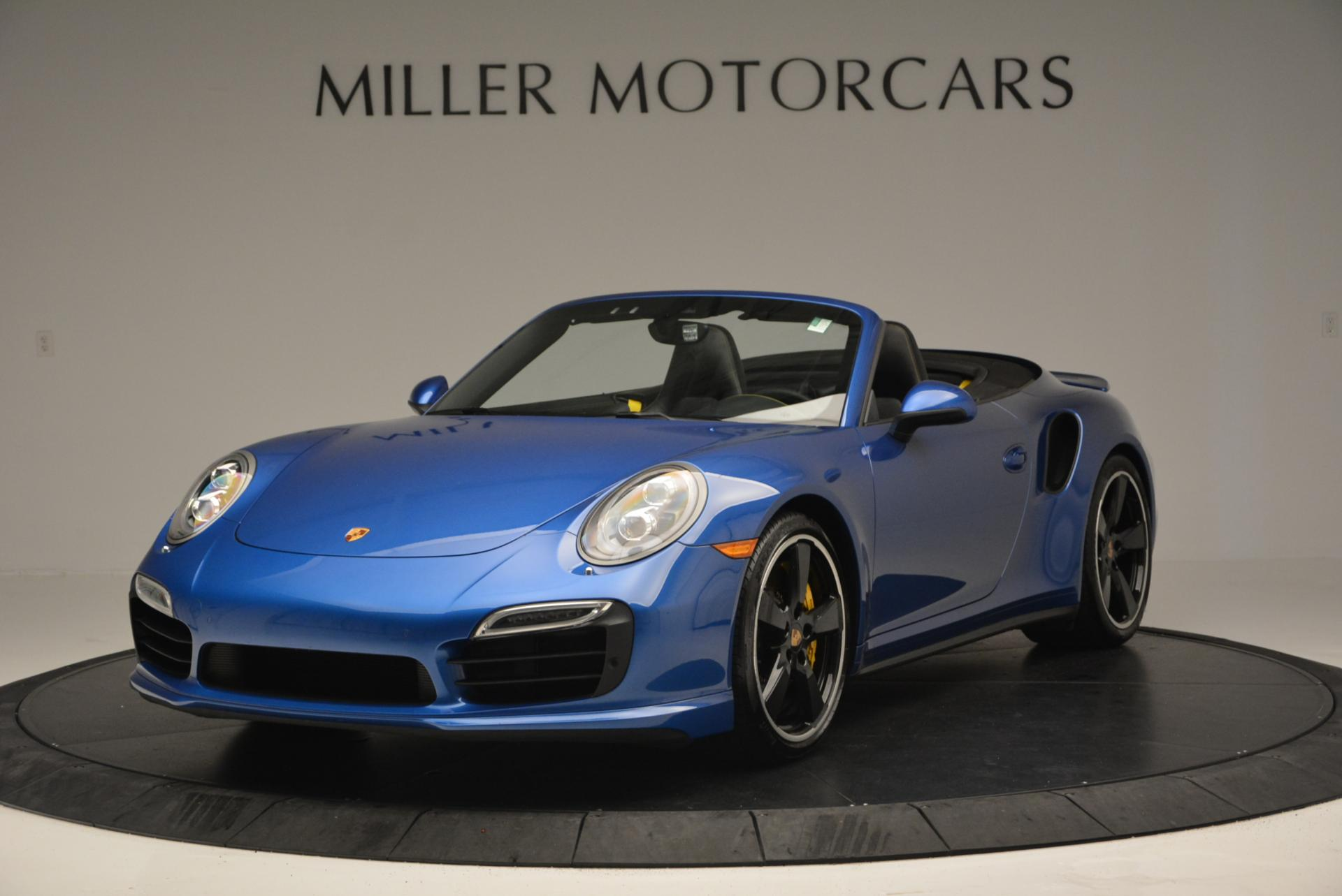 Used 2014 Porsche 911 Turbo S for sale Sold at Pagani of Greenwich in Greenwich CT 06830 1