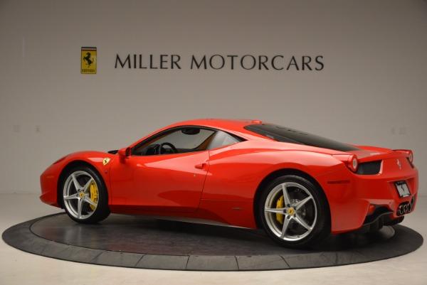 Used 2011 Ferrari 458 Italia for sale Sold at Pagani of Greenwich in Greenwich CT 06830 4