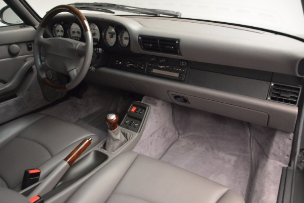 Used 1996 Porsche 911 Turbo for sale Sold at Pagani of Greenwich in Greenwich CT 06830 22
