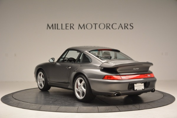 Used 1996 Porsche 911 Turbo for sale Sold at Pagani of Greenwich in Greenwich CT 06830 5