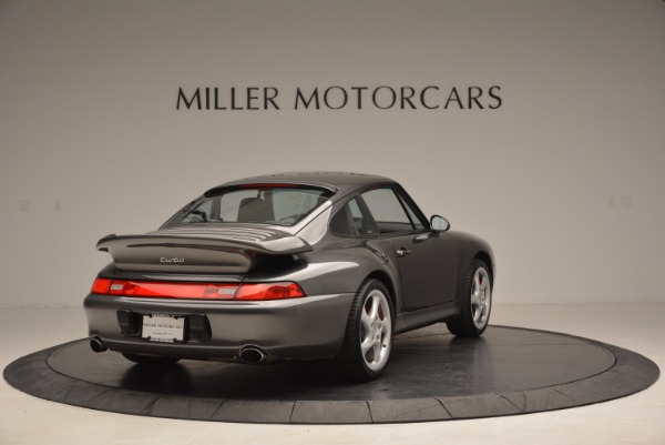 Used 1996 Porsche 911 Turbo for sale Sold at Pagani of Greenwich in Greenwich CT 06830 7