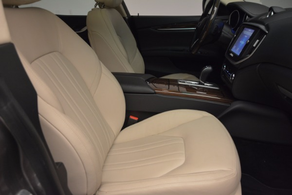 Used 2015 Maserati Ghibli S Q4 for sale Sold at Pagani of Greenwich in Greenwich CT 06830 20