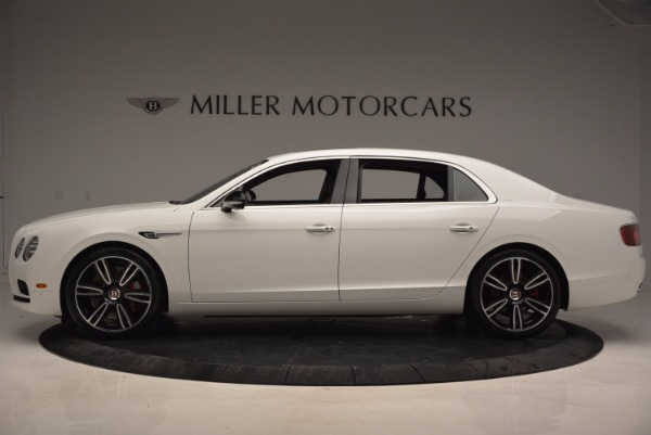 New 2017 Bentley Flying Spur V8 S for sale Sold at Pagani of Greenwich in Greenwich CT 06830 3